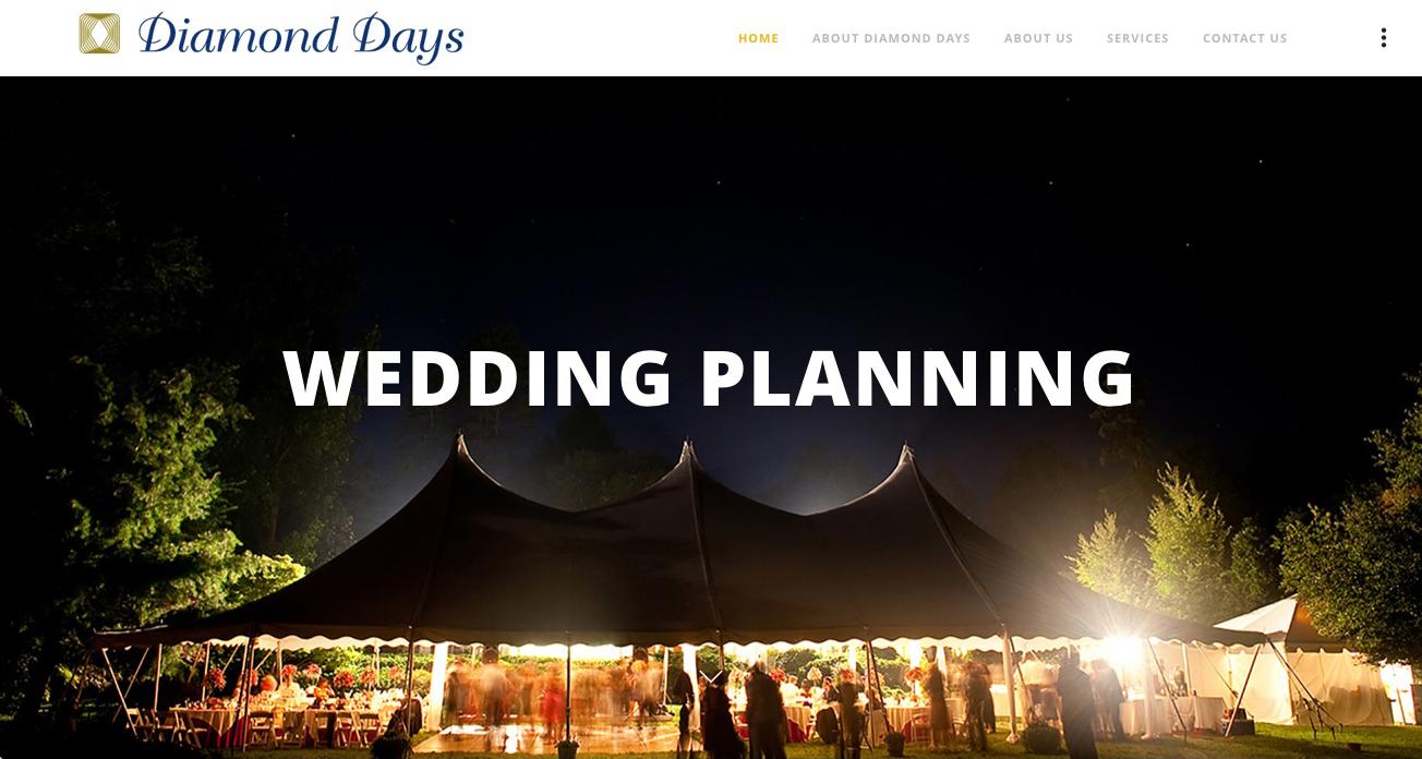 Diamond Days website