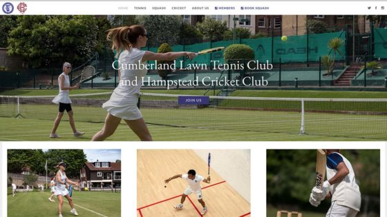 , The Cumberland Lawn Tennis Club, Tangent